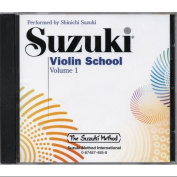 Alfred 00-0485 Suzuki Violin School CD- Volume 1 - Music Book