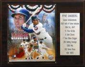 C & I Collectables 1215RYNESST MLB Ryne Sandberg Chicago Cubs Career Stat Plaque