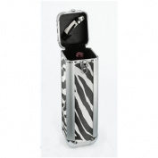 Picnic Gift 3080-ZB Capri Single Bottle Wine Tote - Zebra