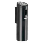 DCI Marketing 712101 Wall-Mounted Ashtray Locking with Swivel - Black