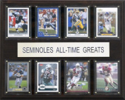 C & I Collectables 1215ATGFSU NCAA Football Florida State Seminoles All-Time Greats Plaque