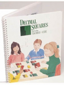 American Educational SR-0878 Decimal Squares Teachers Guide