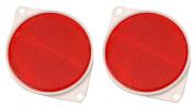 Hy-ko CDRF-3R 7.6cm . Red Nail On Reflector