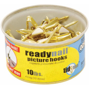Hillman Group Inc - Ook 50606 30 Count No. 10 ReadyNail Conventional Picture Hooks