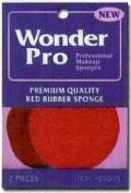 Advanced Enterprises 1045 Wonder Pro Red Rubber Sponge 2 Ct.