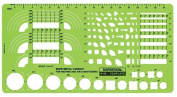 Alvin 48R Template Sheet Metal Conduit