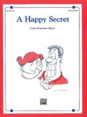 Alfred 00-2372 A Happy Secret - Music Book