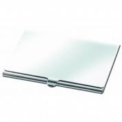 Natico Originals 60-033S Card Case Plain Silver