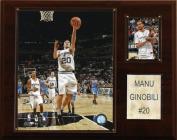 C and I Collectables 1215MANUG NBA Manu Ginobili San Antonio Spurs Player Plaque