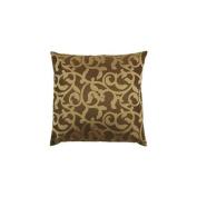 Surya P0148-1818P Poly-Filler Decorative Pillow - Black-Gold