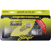 Stinger RKXLIC Licence Plate Dampening Kit with Included Licence Plate Frame