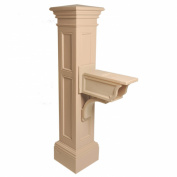 MAYNE 5805C Liberty Mailbox Post- Clay