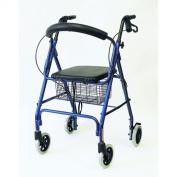 Karman Healthcare R-4608-BL 4 wheel Rollator-Blue