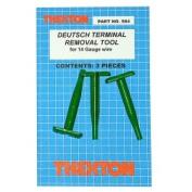 Thexton THX584 Deutsch Terminal Removal Tools for 14 Gauge Wire