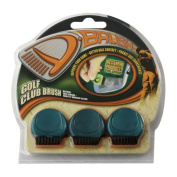 ProActive Sports DDB001 D Brush - 3 Pack