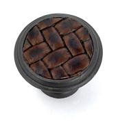 Strategic Brands 12091 1.13 in. Round Knob-Oil-Rubbed Bronze-Brown