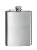 Simran HFM-08 Bar Basics 240ml Matte Stainless Steel Flask - Blister Packed
