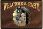 Fiddlers Elbow FED732 Welcome to Our Farm Doormat