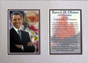 Encore Select m1-obamahawaii Barack Obama Photographed in Hawaii 5 in. x 7 in. Matted Print