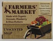 Farmers Market 0856153 Bar Soap Unscented - 5.5 oz