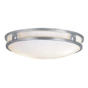 Livex 4488-91 Matrix Ceiling Mount Light- Brushed Nickel