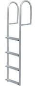 JIF Marine DJV4-W 4 StepstationeryDock Ladder