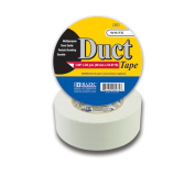 Bazic 972-30.5cm . x 5486.4cm . White Duct Tape- Pack of 12