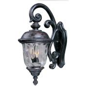 Maxim Lighting 3496WGOB Carriage House DC 2-Light Outdoor Wall Lantern - Oriental Bronze