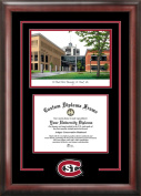 Campus Images MN998SG St. Cloud State Spirit Graduate Frame with Campus Image