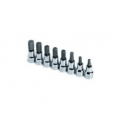SK Hand Tool SK 19708 8 Piece .38 Drive Metric Hex Bit Socket Set