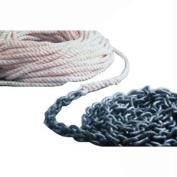 Powerwinch 300' of 1.3cm Rope 15' of 0.6cm HT Chain Rode