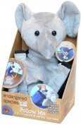 Health Science Labs ES-1895-C Endangered Species Follow Me Backpack- Safety Tail- Elephant