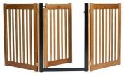 Dynamic Accents 42624 80cm Walk-Through 3 Panel Free Standing Gate Artisan Bronze