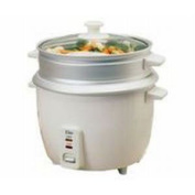 Elite Gourmet 3-Cup Rice Cooker with Steam Tray - ERC003ST