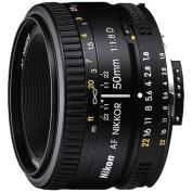 Nikon 50mm f/1.8D AF Nikkor Lens for Nikon Digital SLR Cameras Shoot in low light with your Nikon