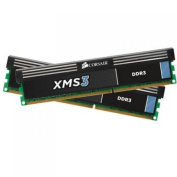 Corsair XMS3 8GB (2 x 4GB) 1333MHz DDR3 240-Pin Desktop Memory, Model# CMX8GX3M2A1333C9