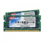 Patriot Signature 8 GB (2 x 4GB) PC2-6400 DDR2-800 SoDIMM Dual Channel Laptop Memory Kit - PSD28G800SK