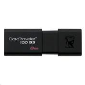 Kingston Technology 8GB DataTraveler 100 G3 USB 3.0 Flash Drive