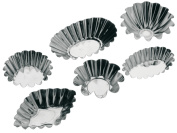 Pedrini 6 Assorted Cake / Pastry Moulds