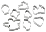 Pedrini 8 Assorted Cookie Cutters