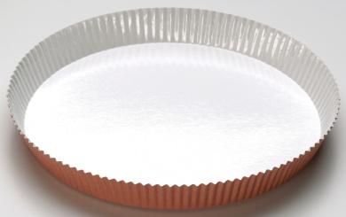 Pedrini 2 Paper Single Use Quiche / Pie Moulds