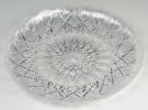 Pedrini 2 Transparent Acrylic Round Trays - 28cm