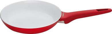 Pedrini Red Colour 3mm Ceramic Coated Frypan - 20cm Dia.
