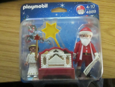 Playmobil 4889 Little Angel and Santa Claus with Organ