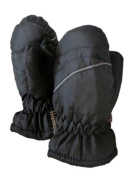 Faded Glory Infant & Toddler Boys Black Snow & Ski Mittens
