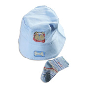 Tiny Togs - Newborn Boys Hat And Socks Set
