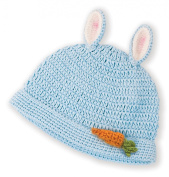 Blue Bunny Beanie Hat by Bunnies By The Bay - 107156