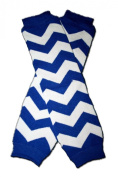 """BLUE AND WHITE ZIG ZAG """"ZIGZAG"""" - Baby Leggings/Leggies/Leg Warmers for Cloth Nappies - GIRLS OR BOYS & ONE SIZE by """"BubuBibi"""""""