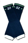 """SOLID NAVY BLUE (32) - Baby Leggings/Leggies/Leg Warmers for Cloth Nappies - Little Girls & Boys & ONE SIZE by """"BubuBibi"""""""