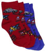 Country Kids Baby-boys Infant 911 Emergency 2 Pair Socks